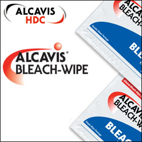 Alcavis Bleach Wipes 1:100