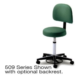 509 Series with optional backrest