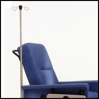 Champion Healthcare Chairs IV Pole