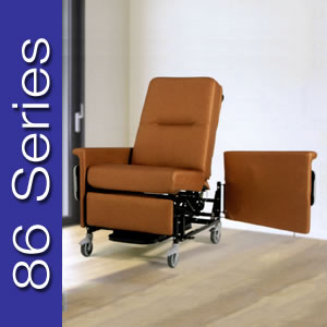 Champion 86 Series Baruatric Recliner / Transporter