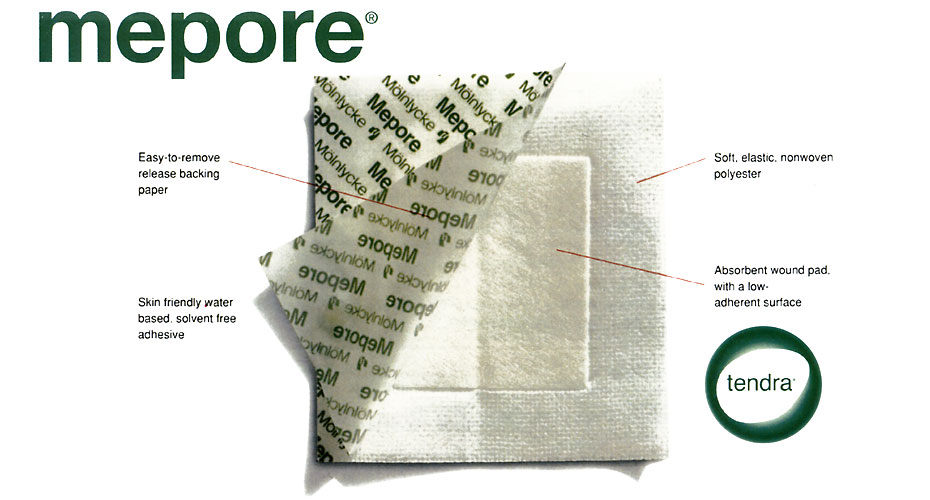 Mepore Self Adhesive Dressing