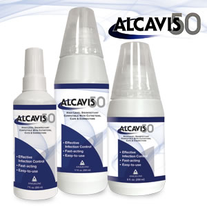 Alcavis 50 High Level Disinfectant