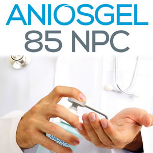 AniosGel Plus -   Hydroalcoholic Antiseptic Gel for Skin and Hands